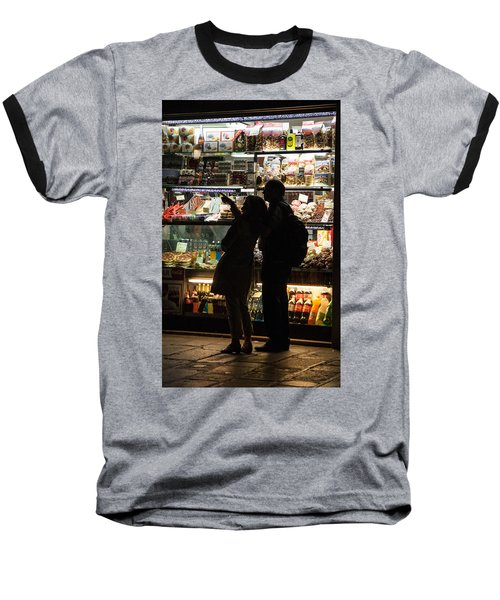 Baseball T-Shirt featuring the photograph Shop by Silvia Bruno
