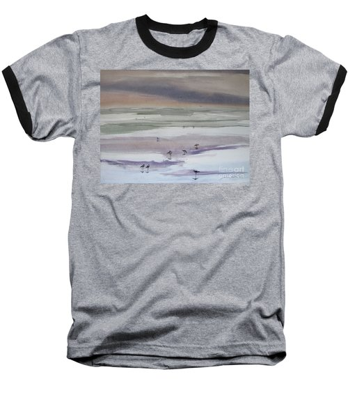 Shoreline Birds II Baseball T-Shirt