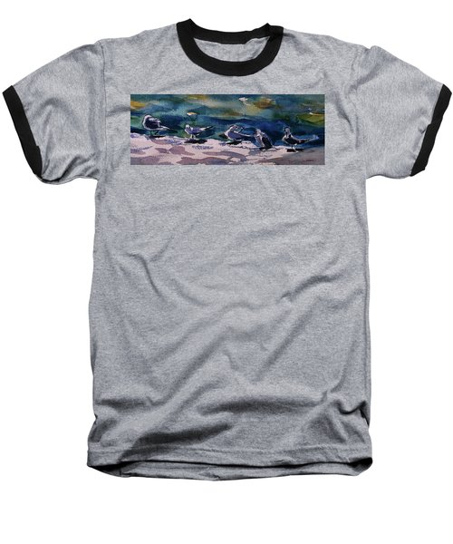 Shoreline Birds Iv Baseball T-Shirt