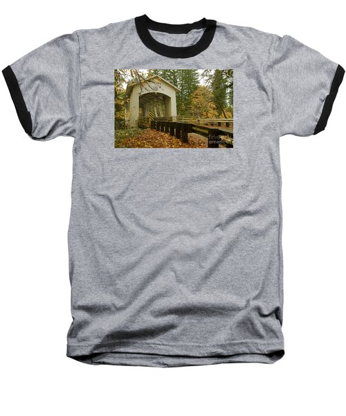 Short Covered Bridge Baseball T-Shirt