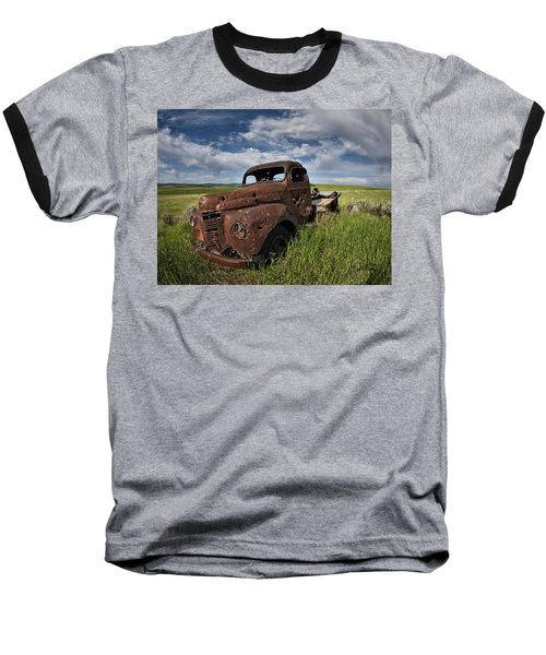 Shot Up Baseball T-Shirt by Leland D Howard