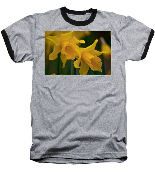 Shout Out Of Spring Baseball T-Shirt by Tikvah's Hope