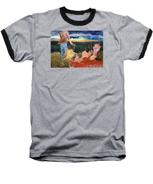 Showing How..... Baseball T-Shirt