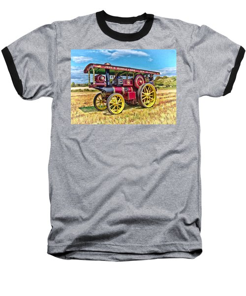 Showmans Engine Baseball T-Shirt