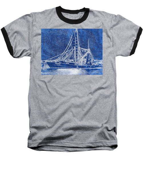 Shrimp Boat - Dock - Coastal Dreaming Baseball T-Shirt