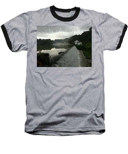 Shrouded Fluid Power Baseball T-Shirt