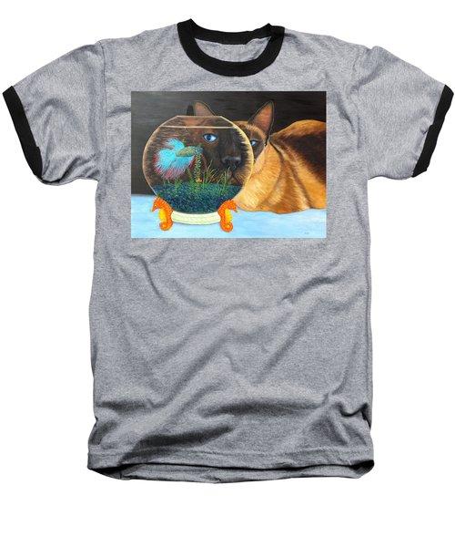 Siam I Am Baseball T-Shirt
