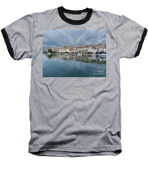 Sibenik Waterfront - Croatia Baseball T-Shirt