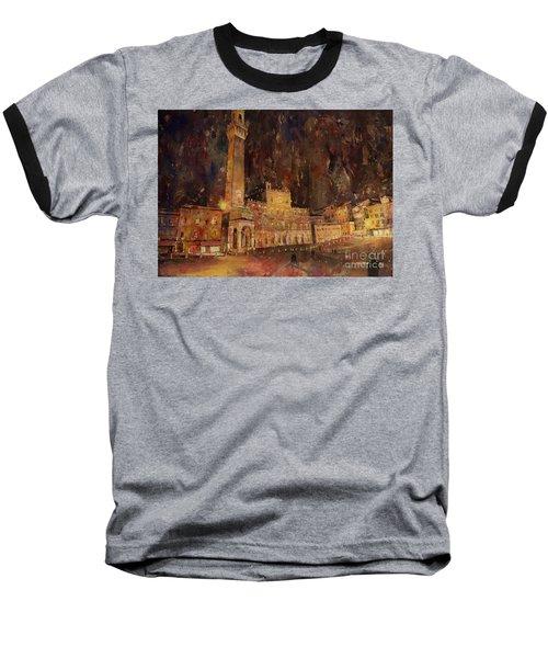 Siena Sunset Baseball T-Shirt