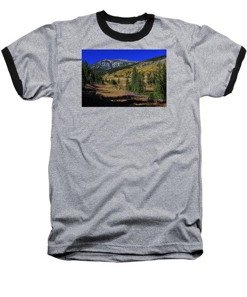 Baseball T-Shirt featuring the photograph Sierra Fall  by Sean Sarsfield
