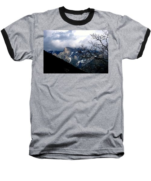Baseball T-Shirt featuring the photograph Sierra Nevada Snowy View by Matt Harang