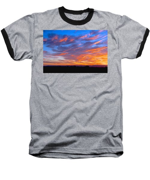 Sierra Nevada Sunrise Baseball T-Shirt