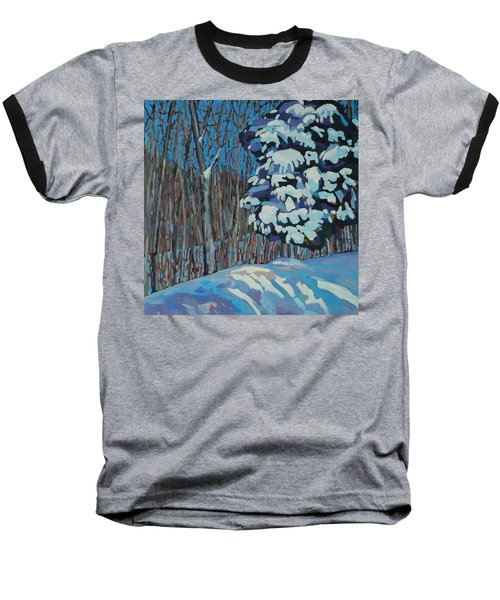 Significant Cedar Baseball T-Shirt by Phil Chadwick