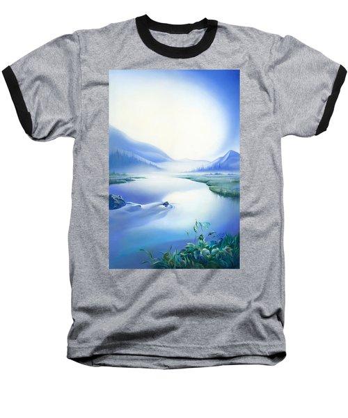 Silence Baseball T-Shirt by Anna Ewa Miarczynska
