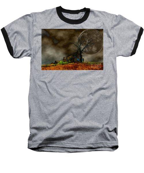 Silent Hill 2 Baseball T-Shirt by Dan Stone