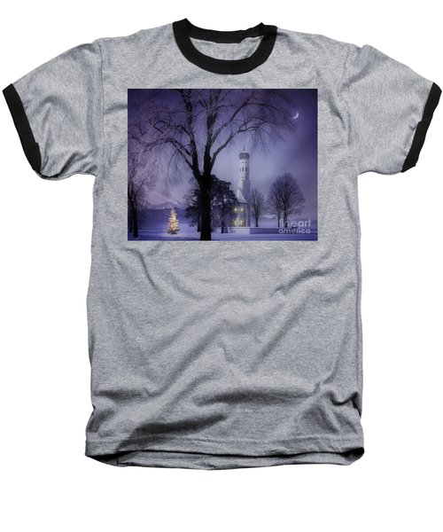 Silent Night Baseball T-Shirt