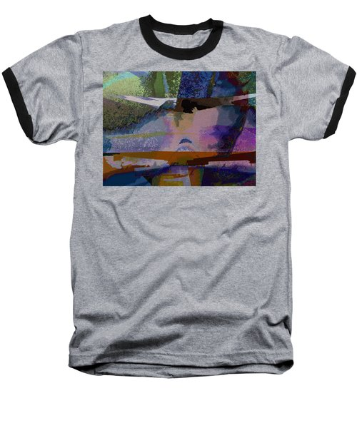 Baseball T-Shirt featuring the photograph Silhouette And Shadows by David Pantuso