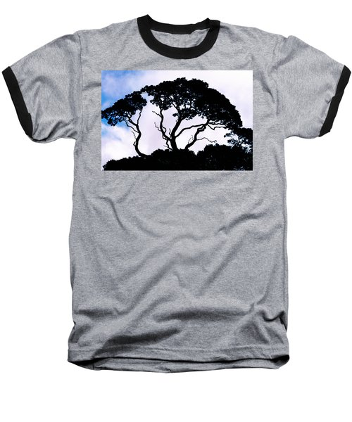 Baseball T-Shirt featuring the photograph Silhouette by Jim Thompson