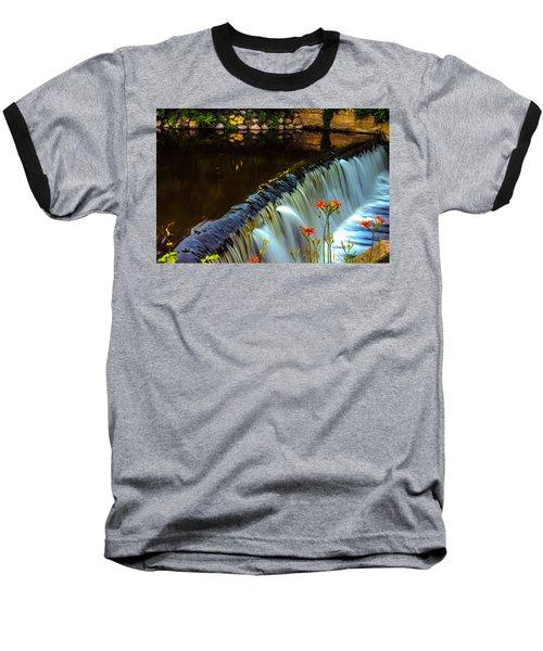 Silk And Flowers Baseball T-Shirt