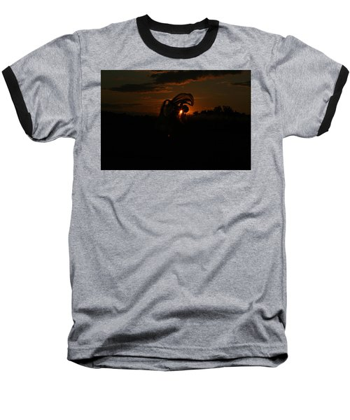 Silk Sunset Baseball T-Shirt