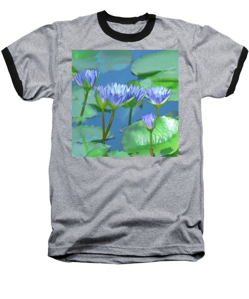 Silken Lilies Baseball T-Shirt