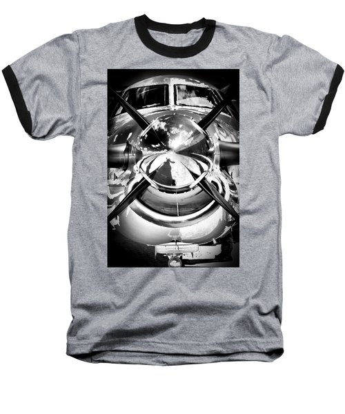 Silver 12 Baseball T-Shirt by Paul Job