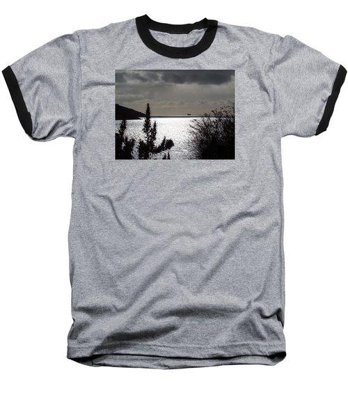Silver Baseball T-Shirt by Richard Brookes