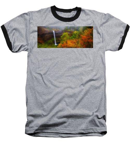 Silver Falls Pano Baseball T-Shirt