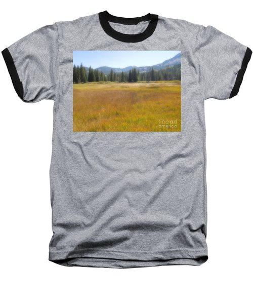 Silver Lake Area Big Cottonwood Canyon Utah Baseball T-Shirt