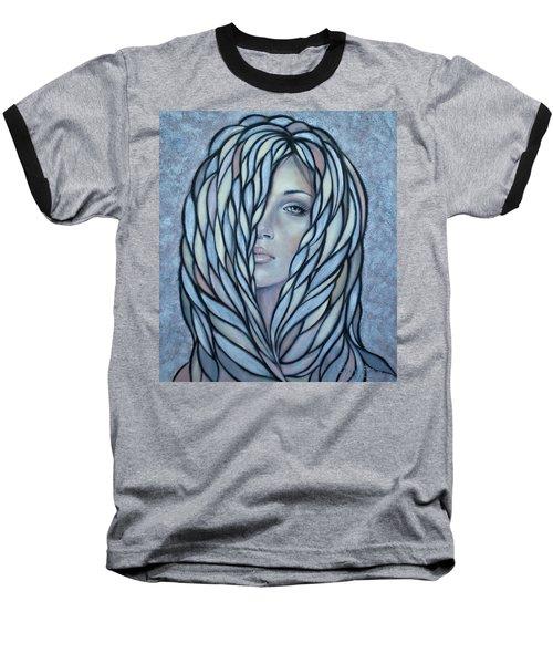 Silver Nymph 021109 Baseball T-Shirt by Selena Boron