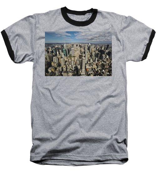 Sim City Baseball T-Shirt by Mihai Andritoiu