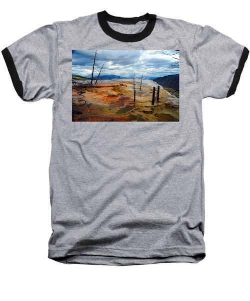 Simmering Color Baseball T-Shirt