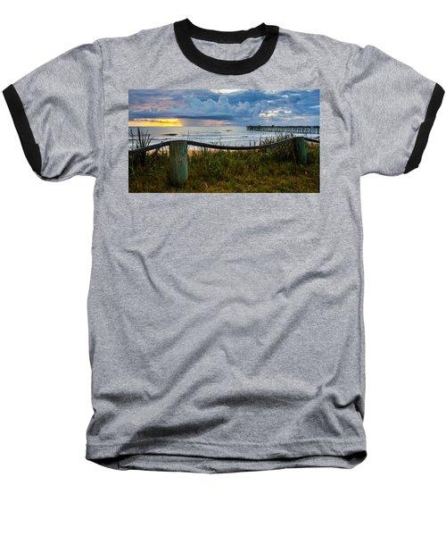 Simple Flager Baseball T-Shirt