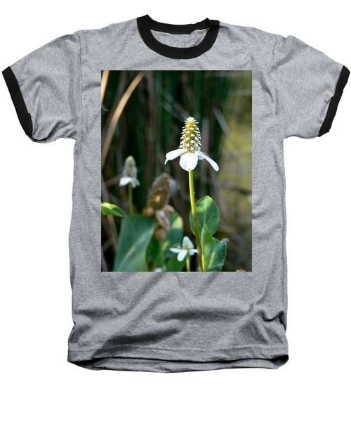 Baseball T-Shirt featuring the photograph Simple Flower by Laurel Powell