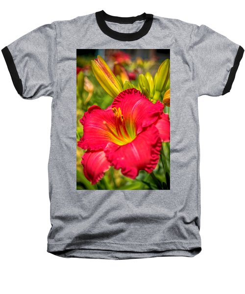 Simple Lily Baseball T-Shirt