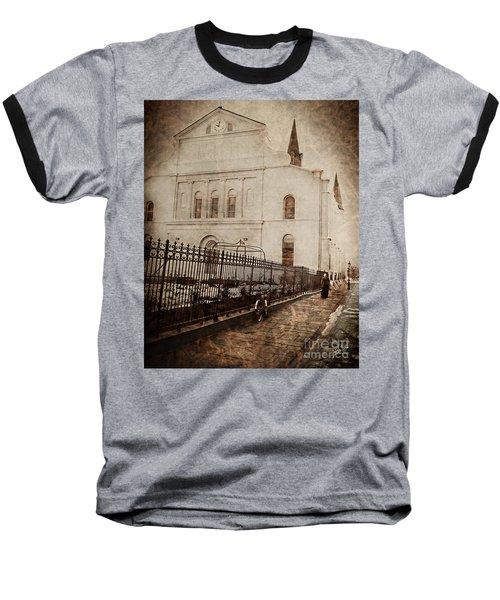 Simpler Times Baseball T-Shirt by Erika Weber