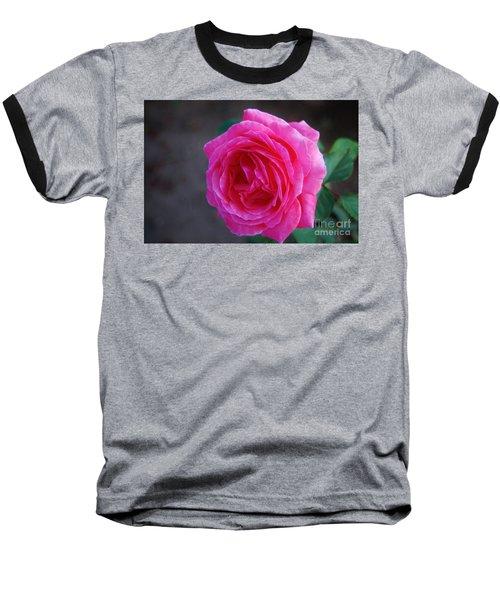 Simply A Rose Baseball T-Shirt by Angela J Wright