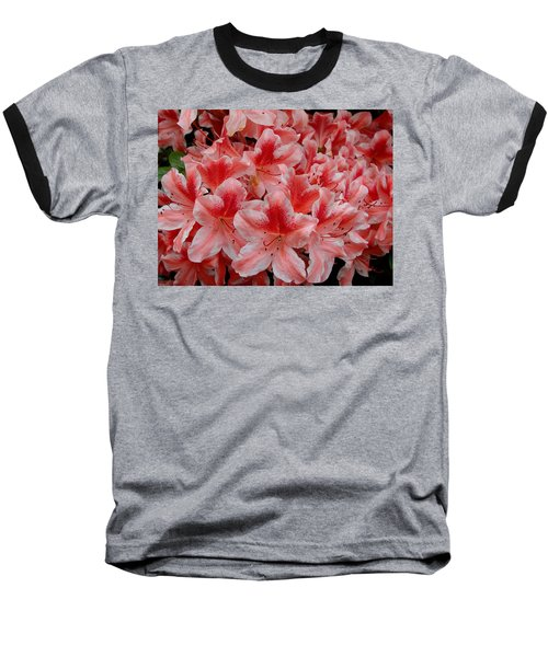Simply Azaleas Baseball T-Shirt by Rodney Lee Williams