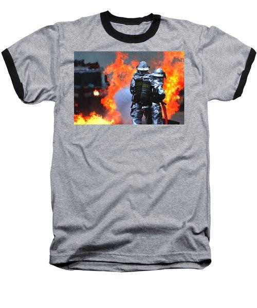 Simulated C-130 Hercules Crash, Osan Baseball T-Shirt