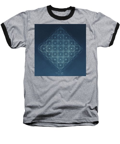 Sine Cosine And Tangent Waves Baseball T-Shirt