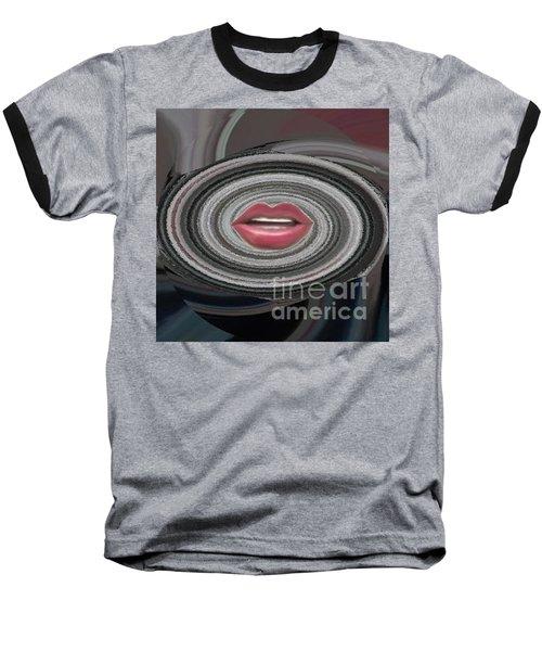 Baseball T-Shirt featuring the digital art Sing by Catherine Lott