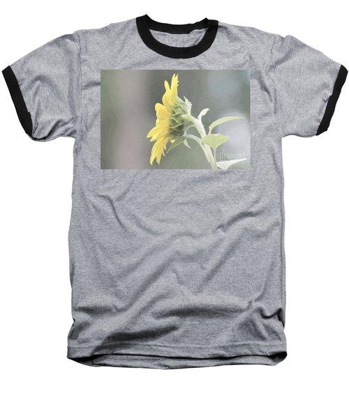 Single Sunflower Baseball T-Shirt