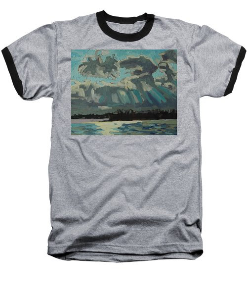 Singleton Cold Front Baseball T-Shirt by Phil Chadwick