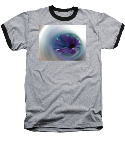 Baseball T-Shirt featuring the mixed media Sinking Into Beauty by Frank Bright