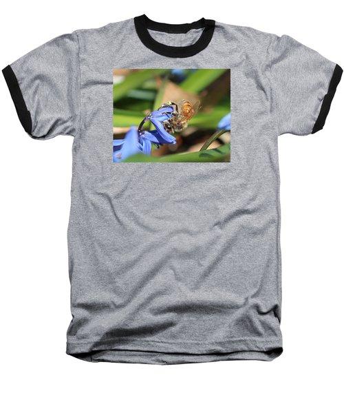 Sipping Upside-down Baseball T-Shirt by Lucinda VanVleck