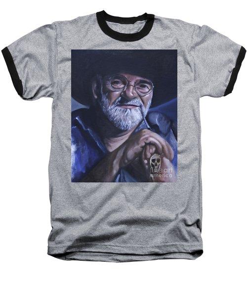 Sir Terry Pratchett Baseball T-Shirt