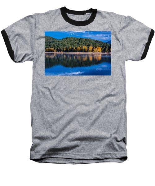 Siskiyou Lake Shoreline Baseball T-Shirt