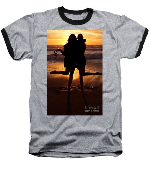 Sister Sunset Baseball T-Shirt