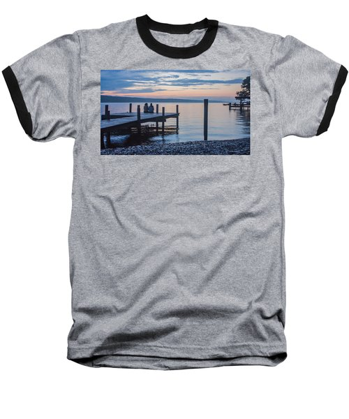 Sisters - Lakeside Living At Sunset Baseball T-Shirt