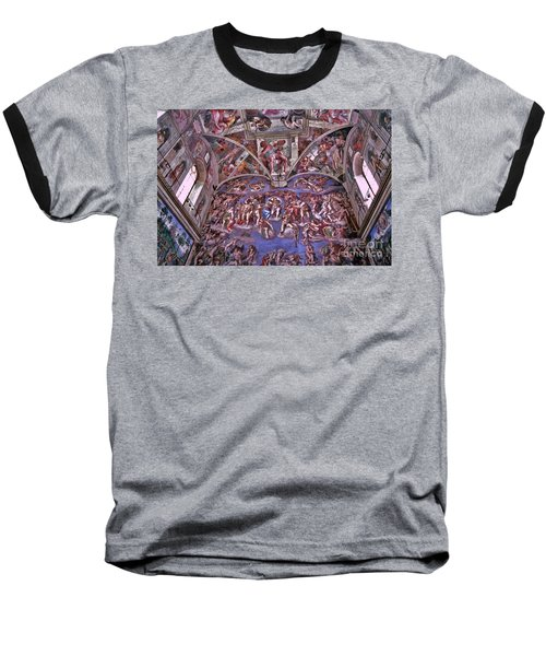 Baseball T-Shirt featuring the photograph Sistine Chapel by Allen Beatty